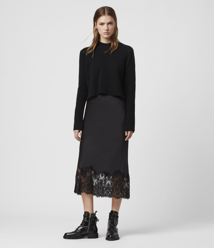 Womens Bridgette Skirt (black) - Image 1