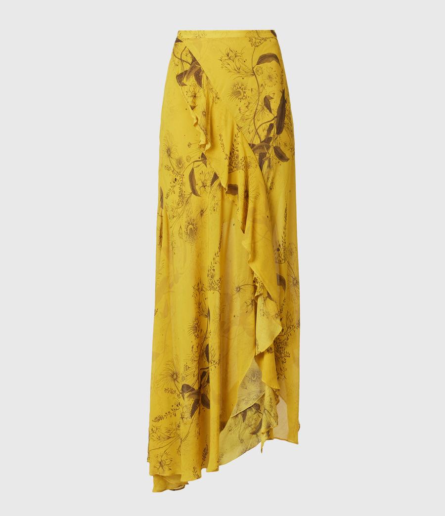 Women's Raya Demoir Skirt (garden_olive) - Image 2