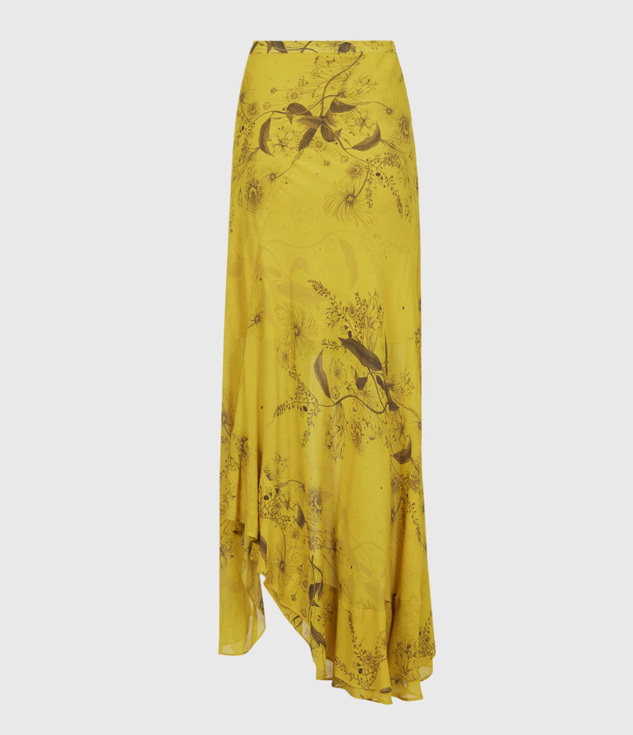 Women's Raya Demoir Skirt (garden_olive) - Image 3