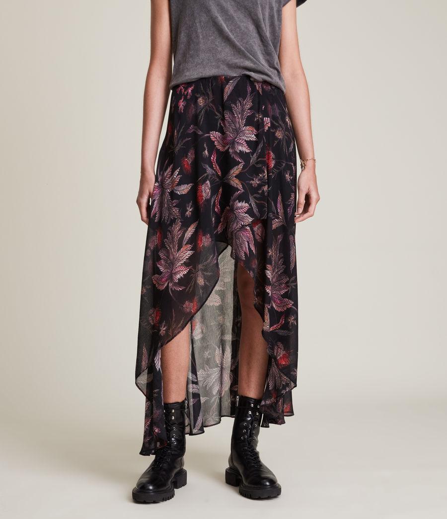 Womens Slvina Harris Skirt (black) - Image 2