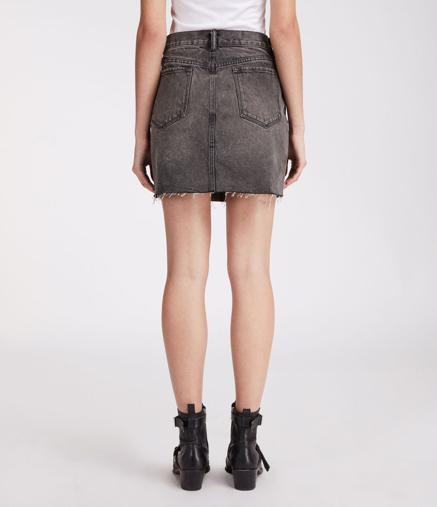 Womens Betty Skirt (washed_black) - Image 4