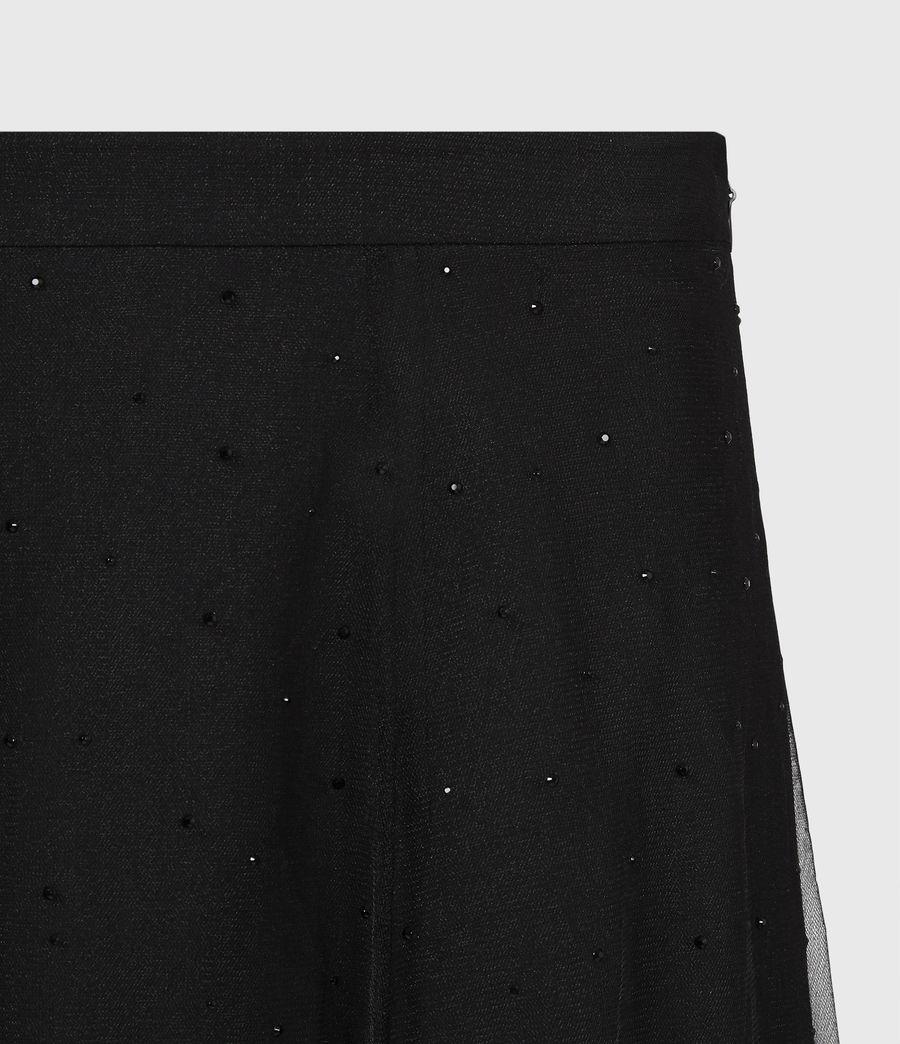 Women's Elvie Tulle Skirt (black) - Image 5