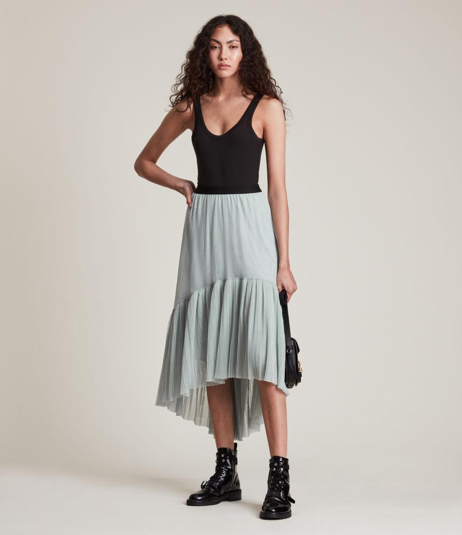 Women's Aubrey Skirt (powder_blue) - Image 1