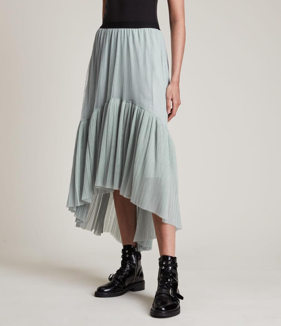 Women's Aubrey Skirt (powder_blue) - Image 4
