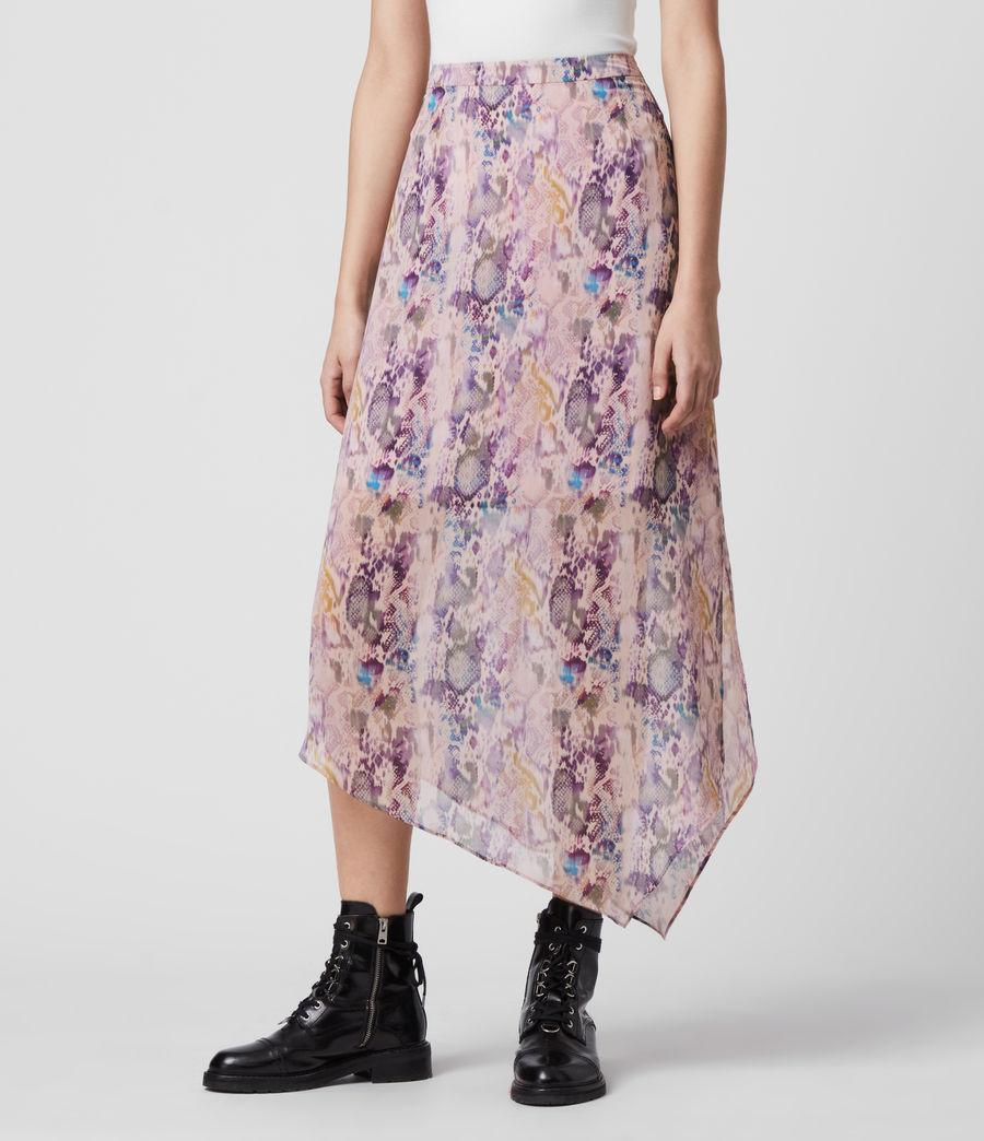 Mujer Rhea Masala Skirt (mink_pink) - Image 3