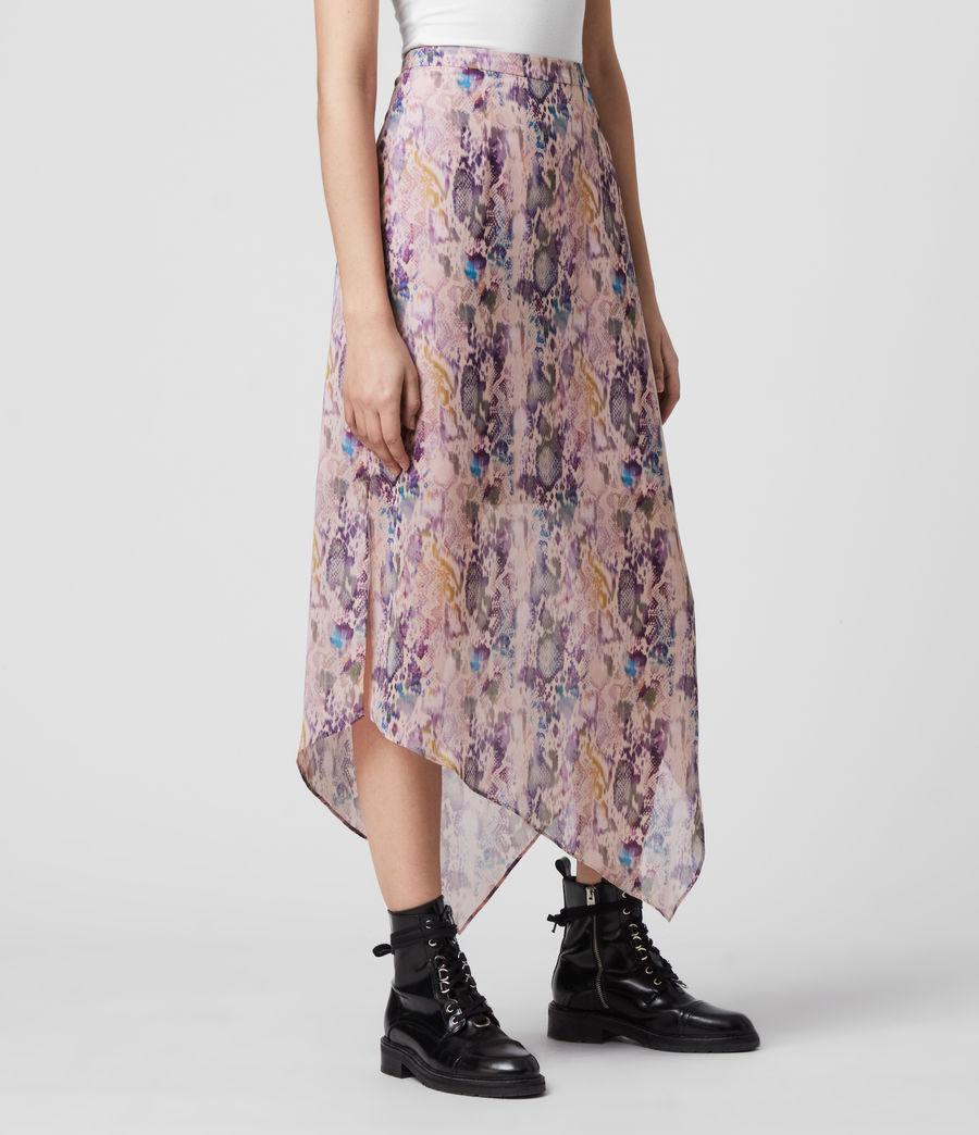Womens Rhea Masala Skirt (mink_pink) - Image 4