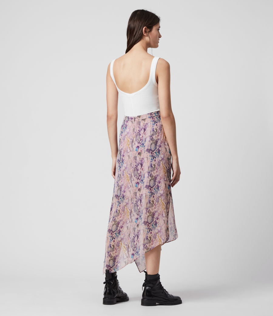 Womens Rhea Masala Skirt (mink_pink) - Image 6