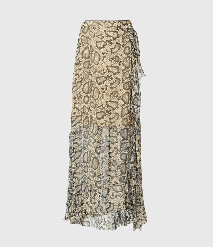 Womens Mena Stanza Skirt (pale_yellow) - Image 2