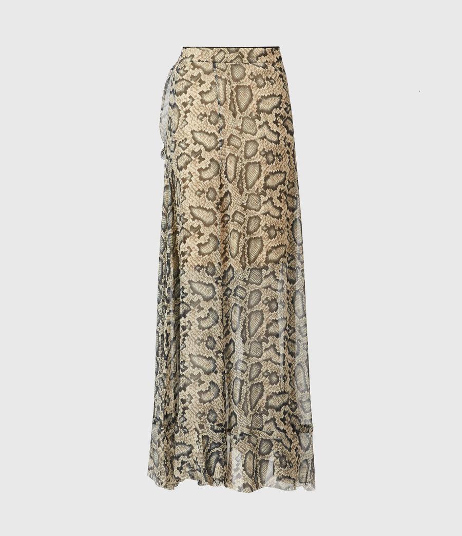 Womens Mena Stanza Skirt (pale_yellow) - Image 3
