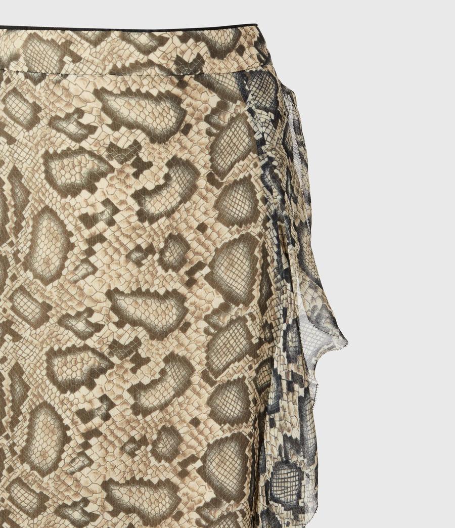 Womens Mena Stanza Skirt (pale_yellow) - Image 5
