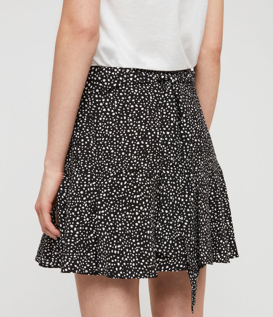 Women's Frida Splash Skirt (black_white) - Image 4