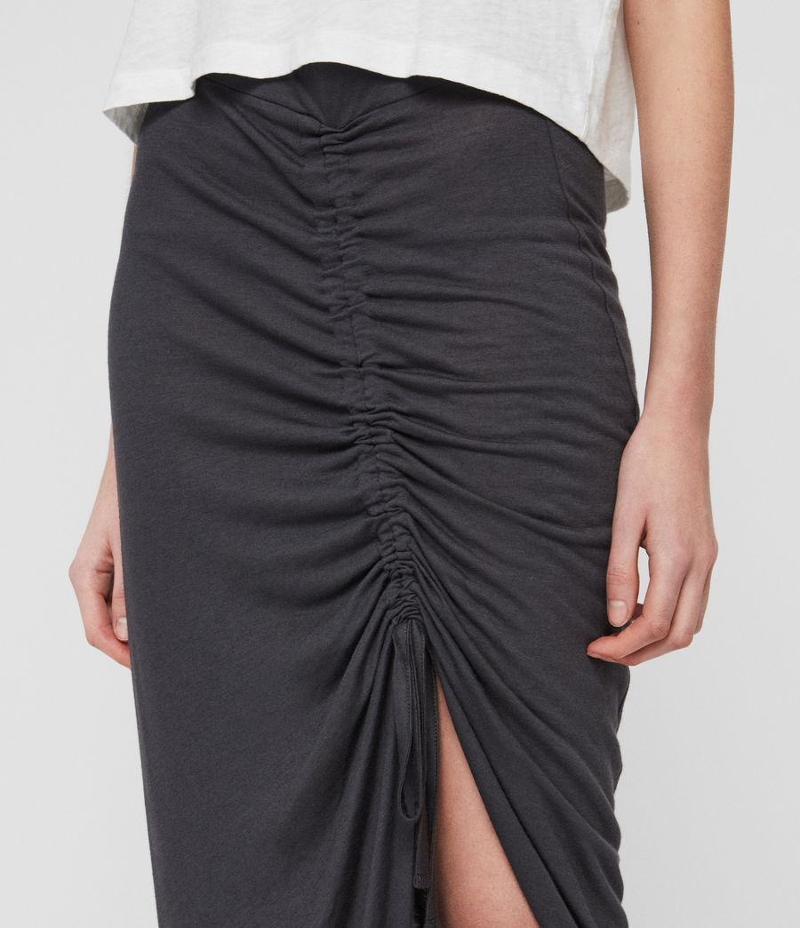 Womens Filor Skirt (washed_black) - Image 3