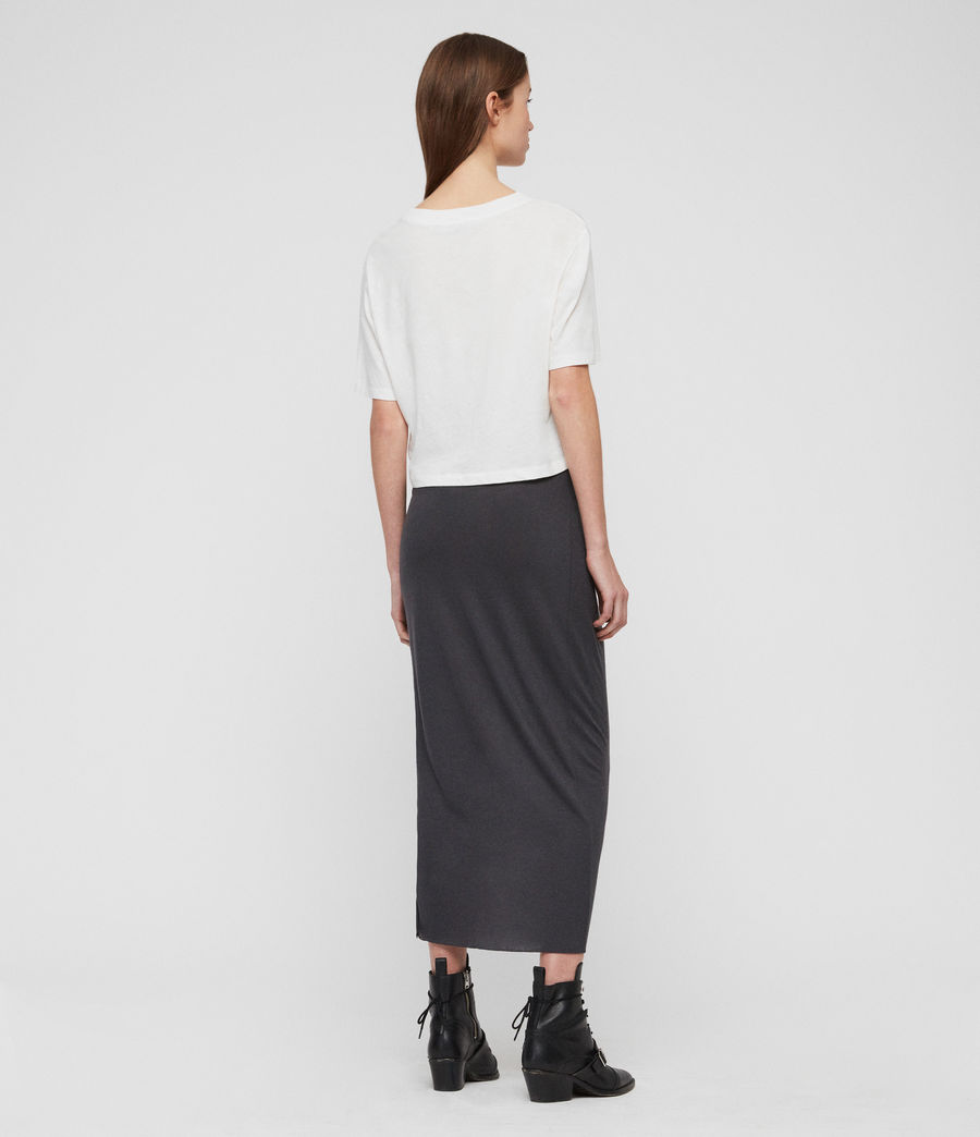 Womens Filor Skirt (washed_black) - Image 9