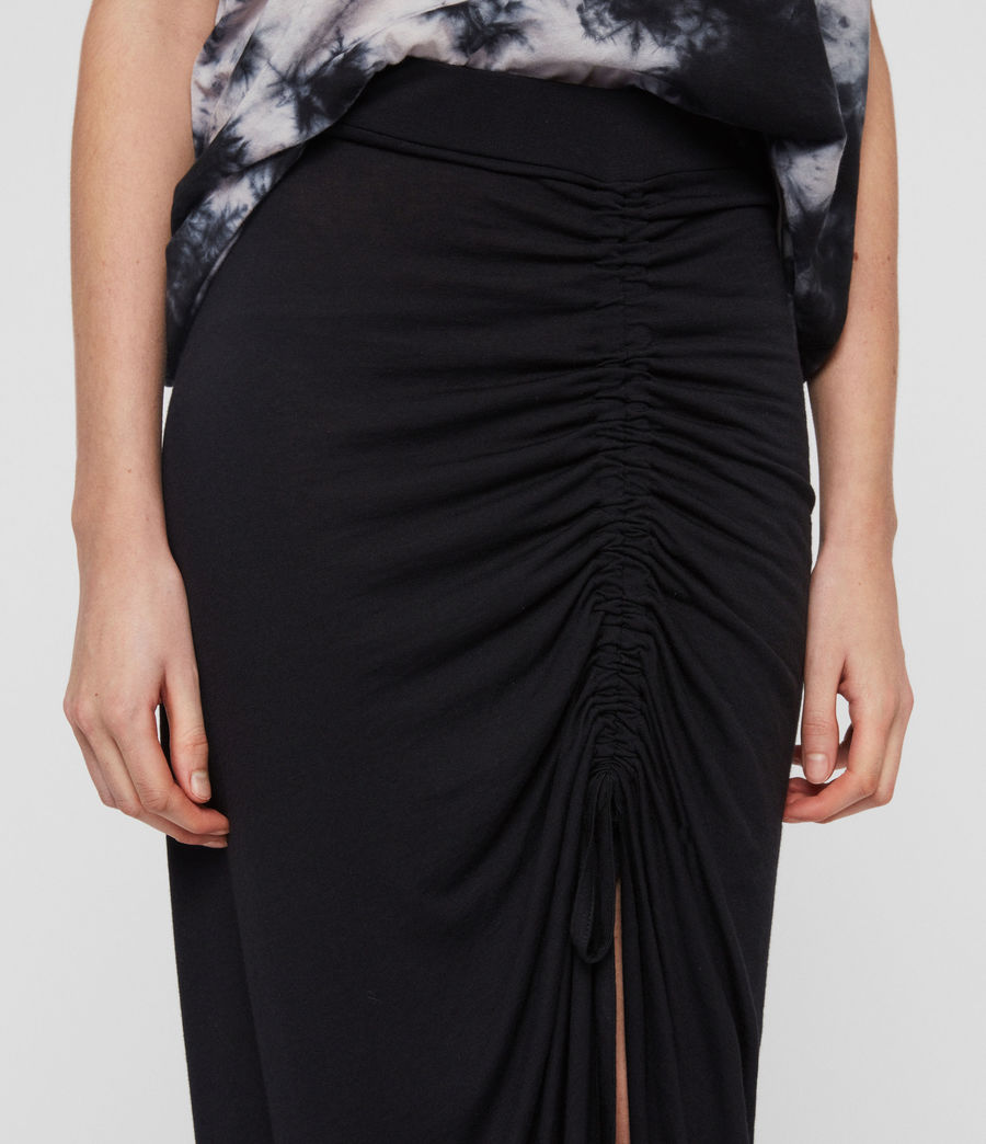 Womens Filor Skirt (black) - Image 3