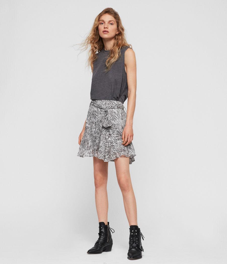 Womens Frida Zed Skirt (warm_grey) - Image 1
