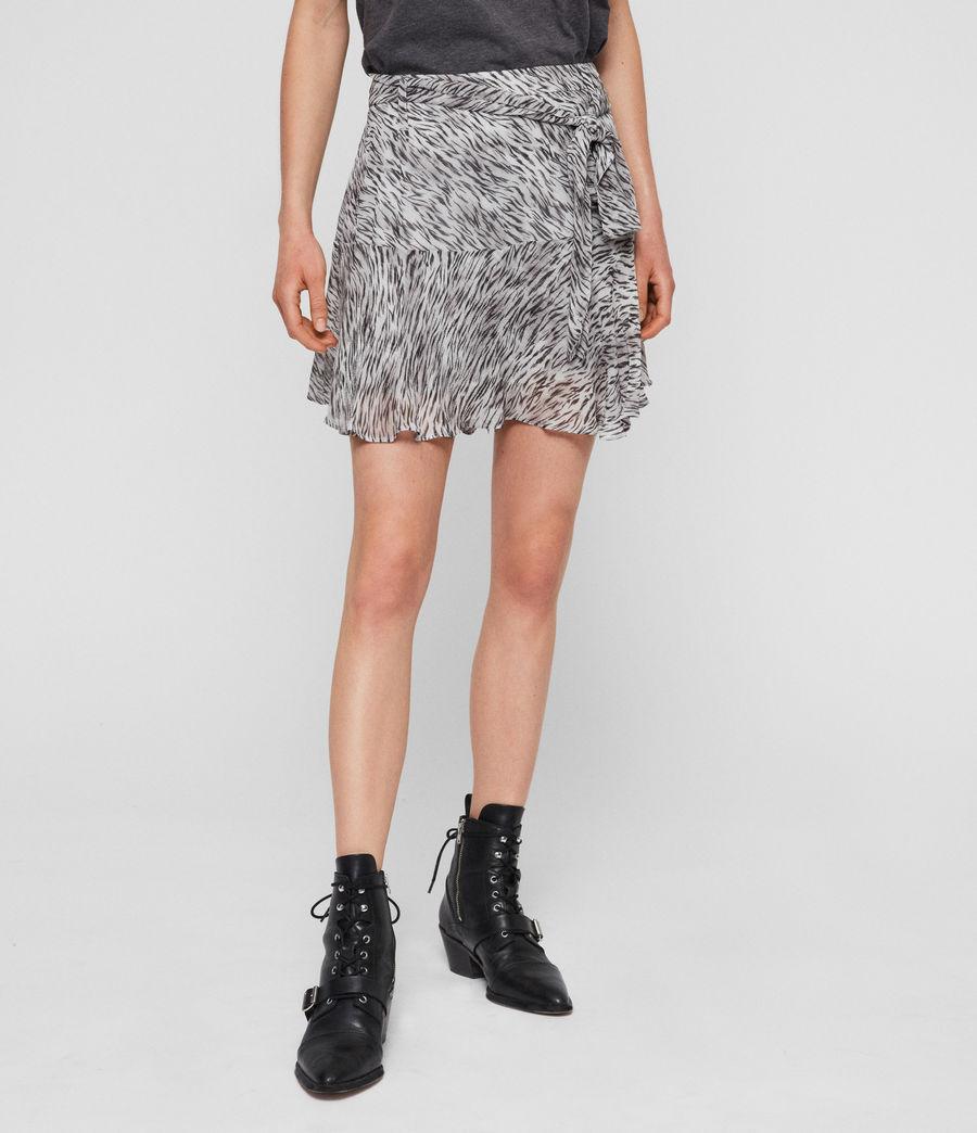 Womens Frida Zed Skirt (warm_grey) - Image 2