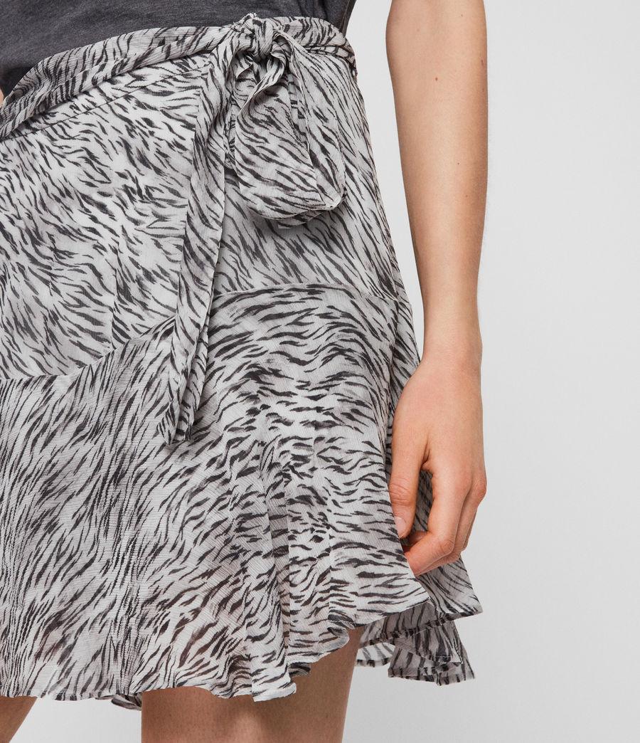 Womens Frida Zed Skirt (warm_grey) - Image 3