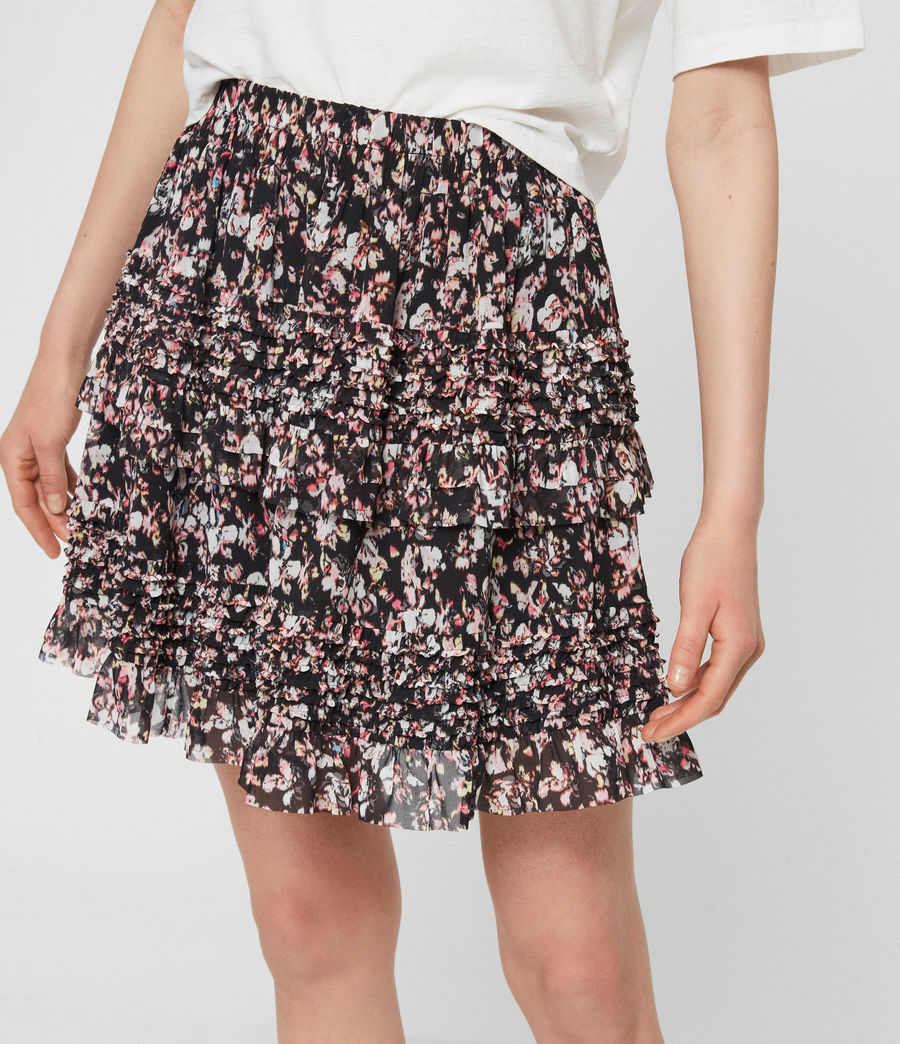 Womens Sanse Freefall Skirt (black) - Image 3