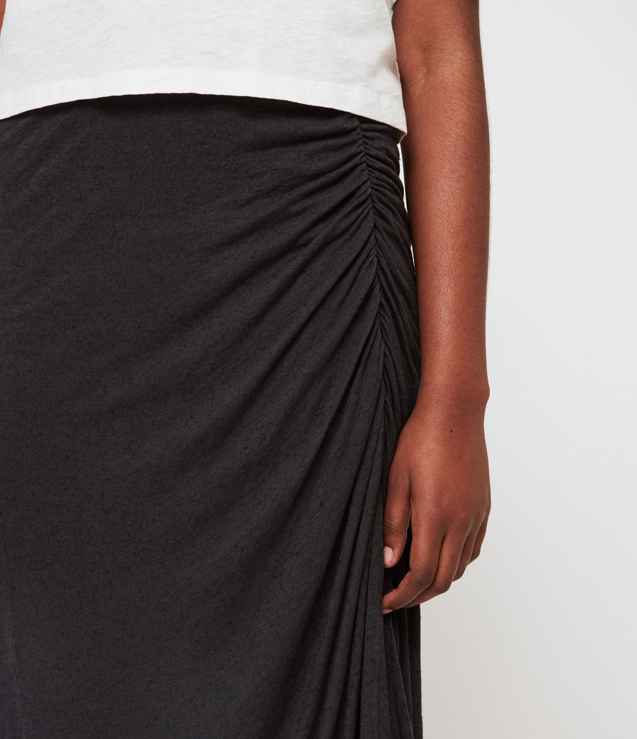 Womens Walla Skirt (washed_black) - Image 3