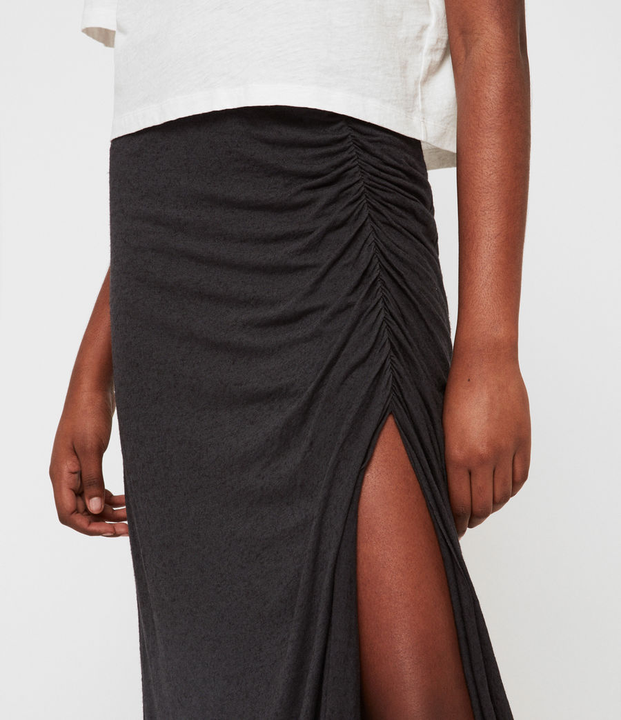 Womens Walla Skirt (washed_black) - Image 4