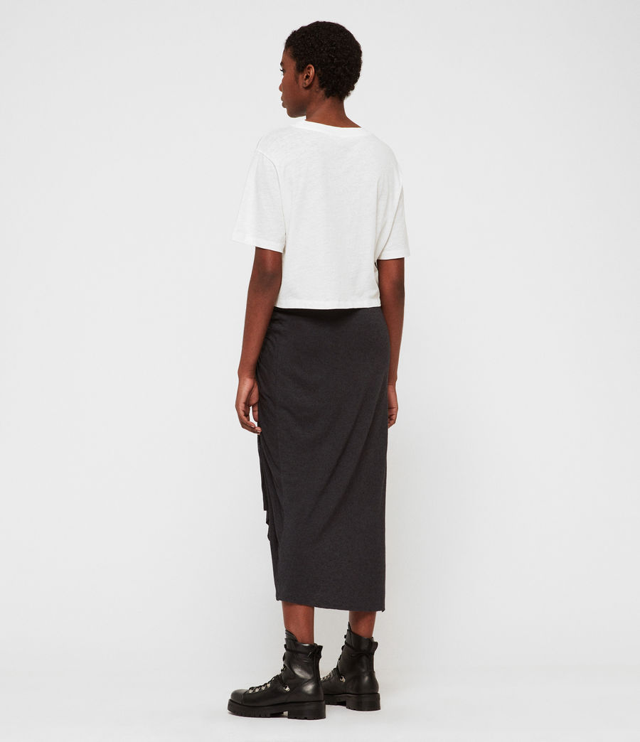 Womens Walla Skirt (black) - Image 6