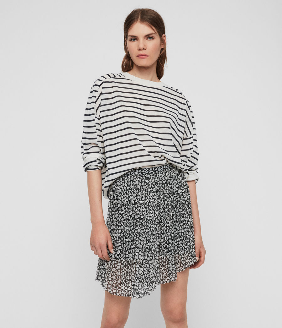 Womens Lea Scatter Skirt (grey) - Image 2