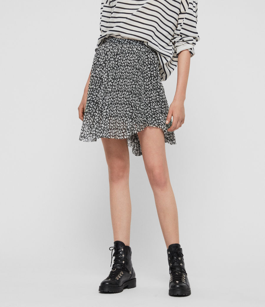 Donne Lea Scatter Skirt (grey) - Image 3
