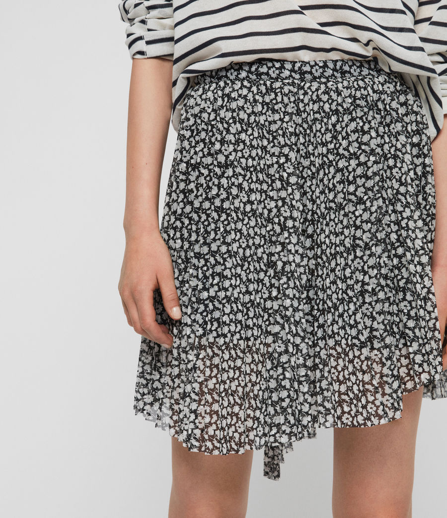 Womens Lea Scatter Skirt (grey) - Image 4