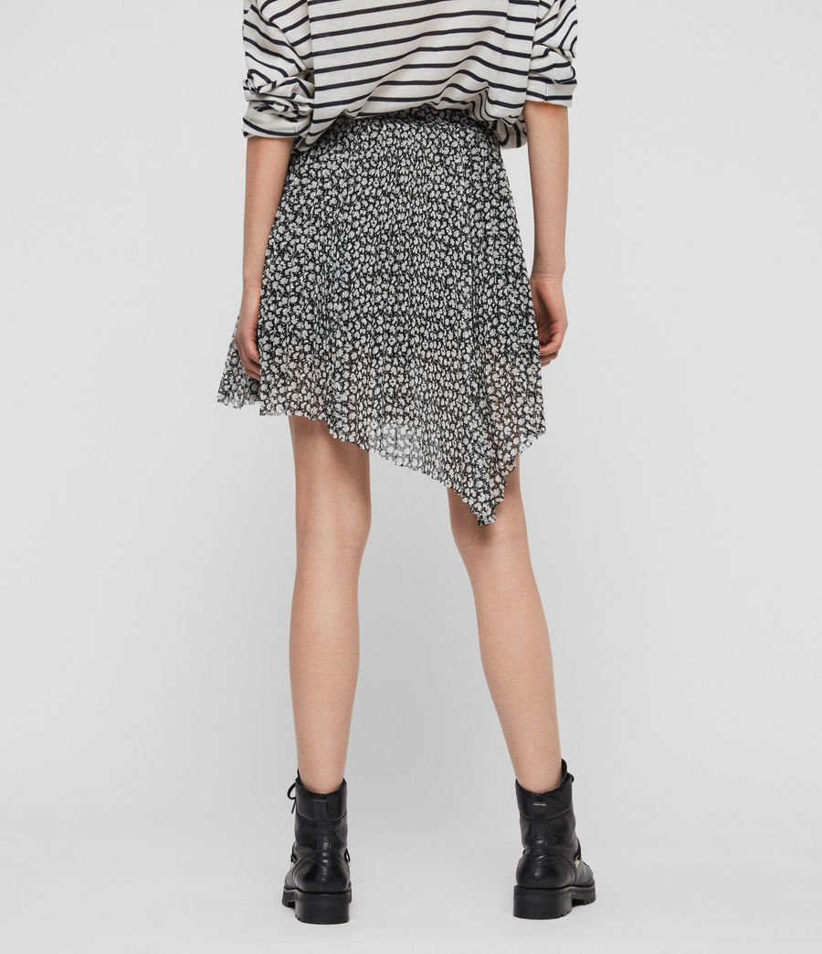 Womens Lea Scatter Skirt (grey) - Image 5