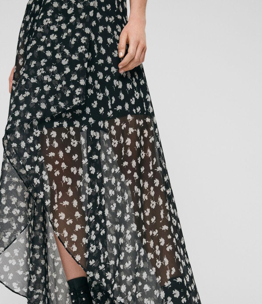 Womens Slvina Scatter Skirt (black) - Image 2