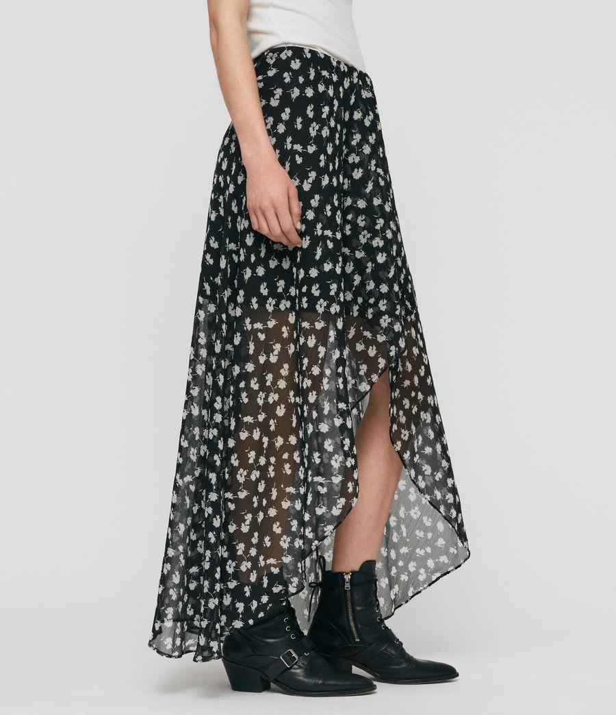 Womens Slvina Scatter Skirt (black) - Image 3