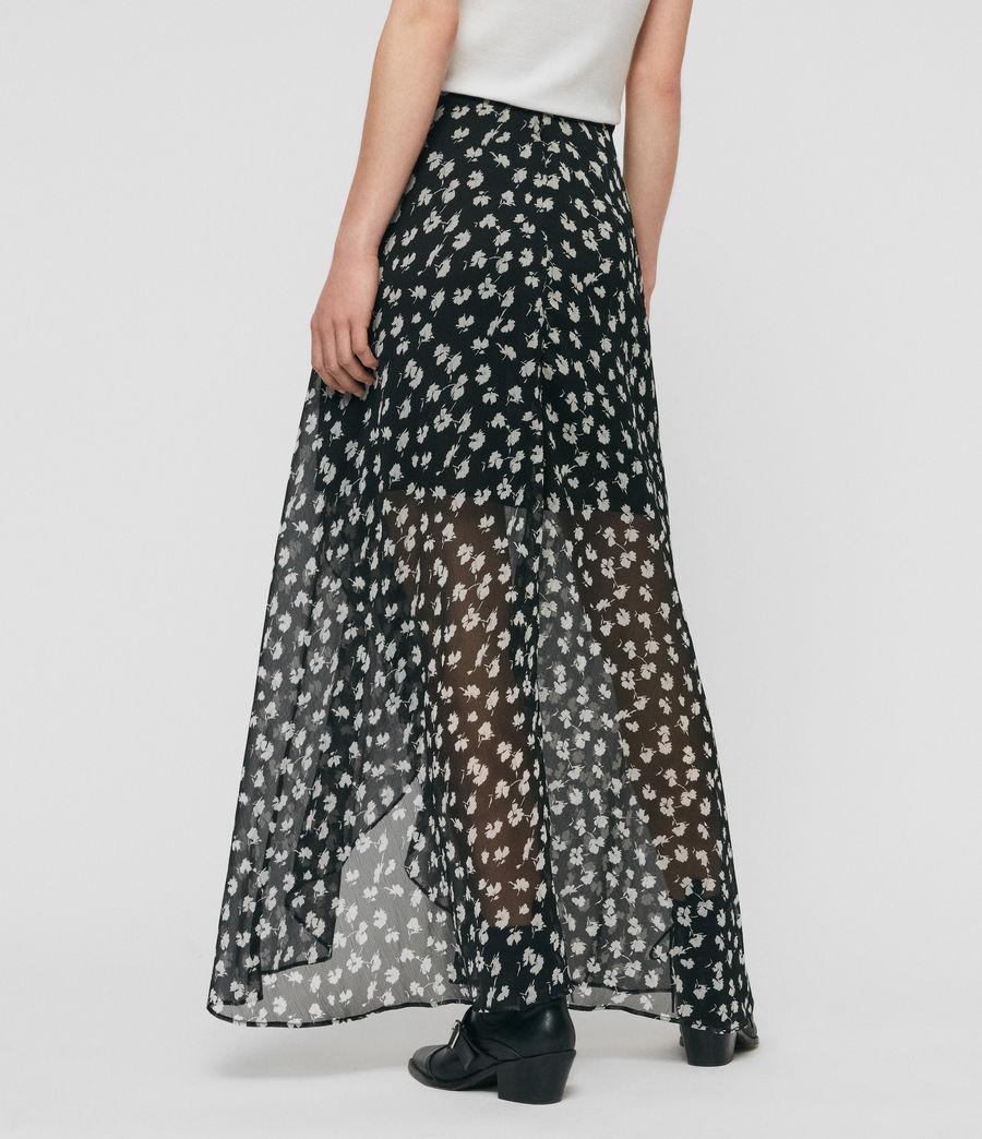 Womens Slvina Scatter Skirt (black) - Image 5
