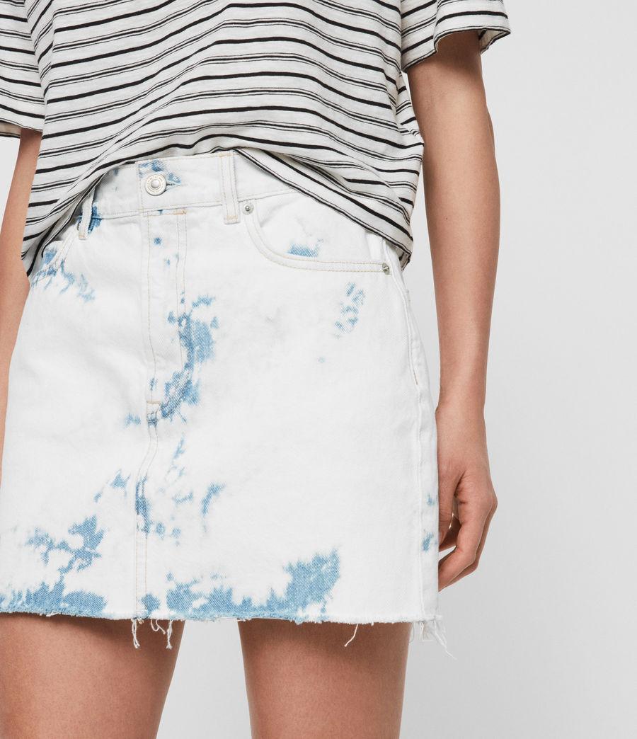 Mujer Minifalda en Mezclilla Lexi (punk_bleach_blue) - Image 3
