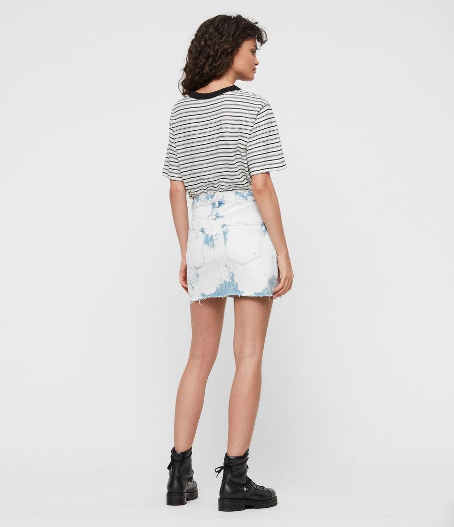 Womens Lexi Skirt (punk_bleach_blue) - Image 4
