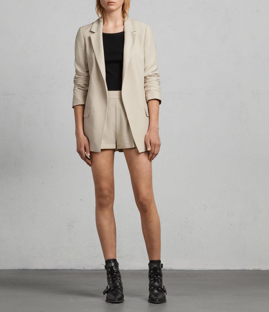 Donne Shorts Aleida (stone_white) - Image 1