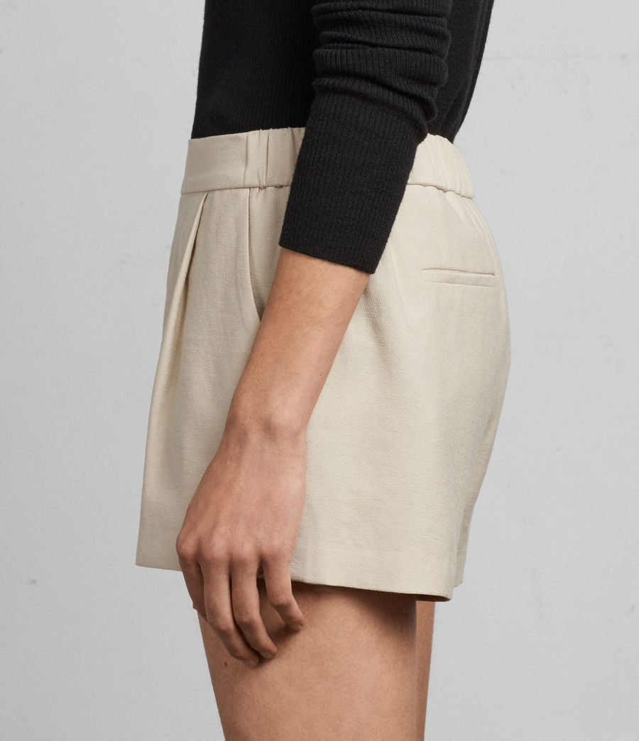 Donne Shorts Aleida (stone_white) - Image 2