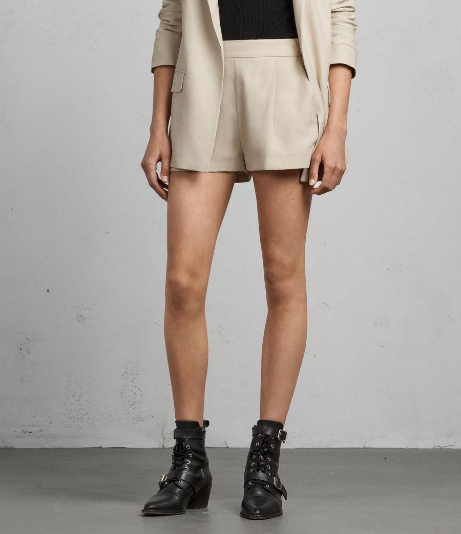 Donne Shorts Aleida (stone_white) - Image 3
