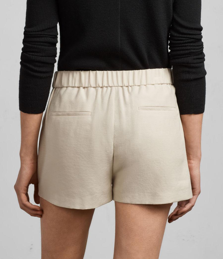 Mujer Shorts Aleida (stone_white) - Image 4