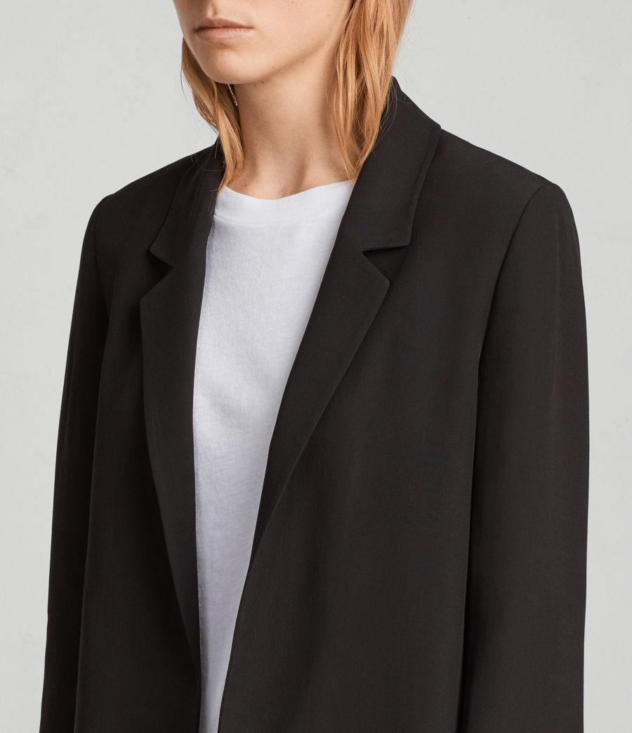 Damen Aleida Blazer mit Spitze (black) - Image 2