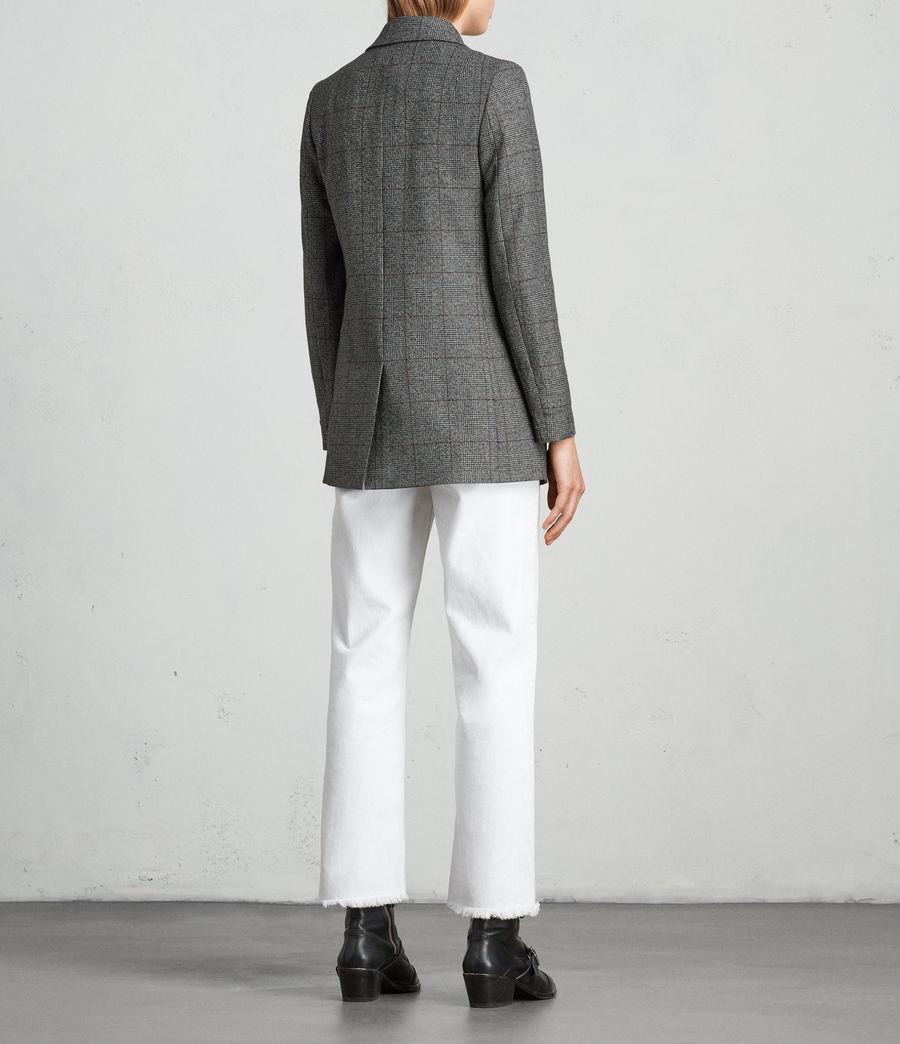 Mujer Blazer Avnie Check (grey) - Image 5