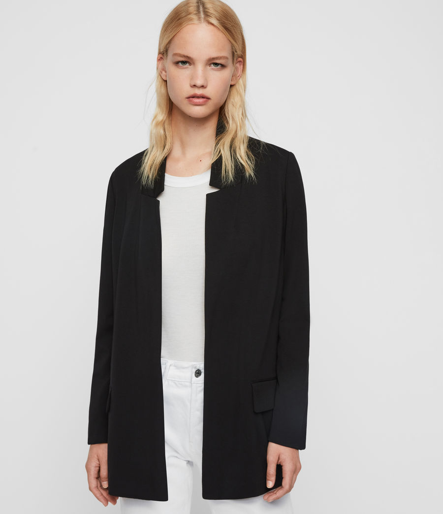 Mujer Blazer Aida Jersey (black) - Image 1
