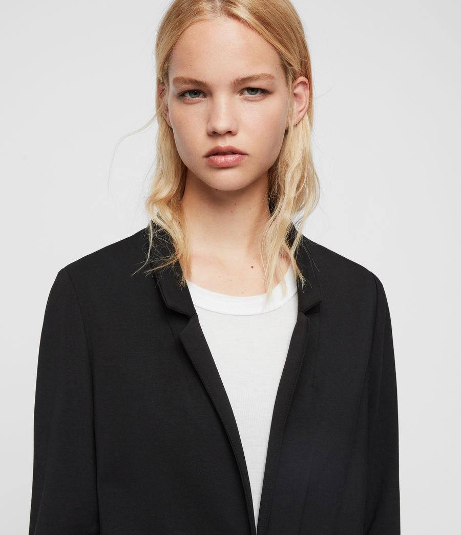 Mujer Blazer Aida Jersey (black) - Image 2