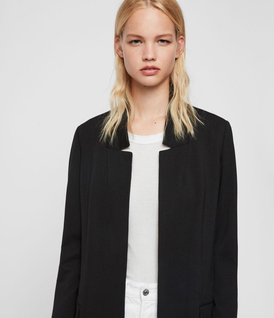 Mujer Blazer Aida Jersey (black) - Image 3