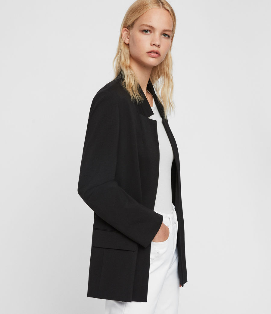 Mujer Blazer Aida Jersey (black) - Image 6