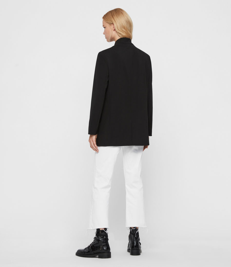 Mujer Blazer Aida Jersey (black) - Image 7
