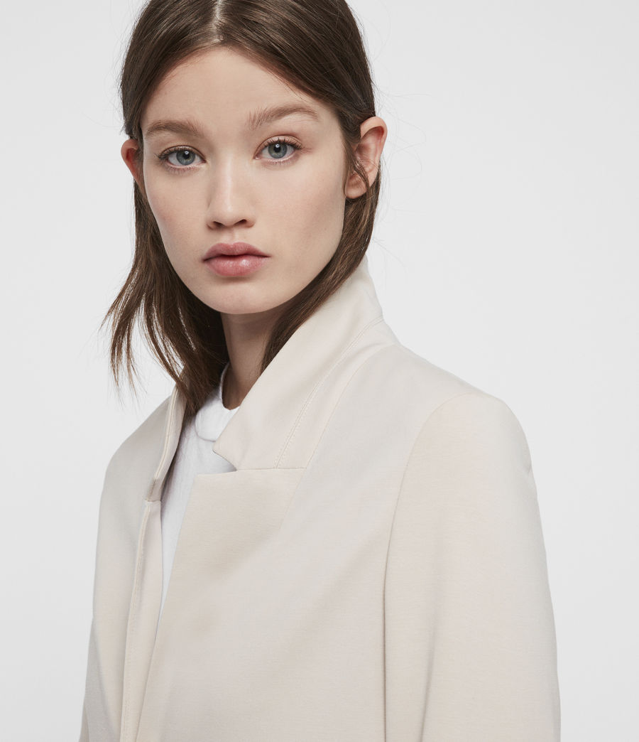 Damen Aida Jersey Blazer (dove_grey) - Image 2