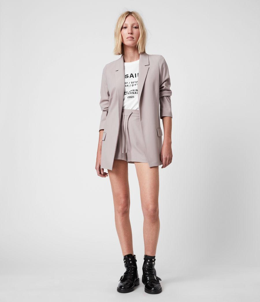 Women's Aleida Tri Blazer (dusty_pink) - Image 1