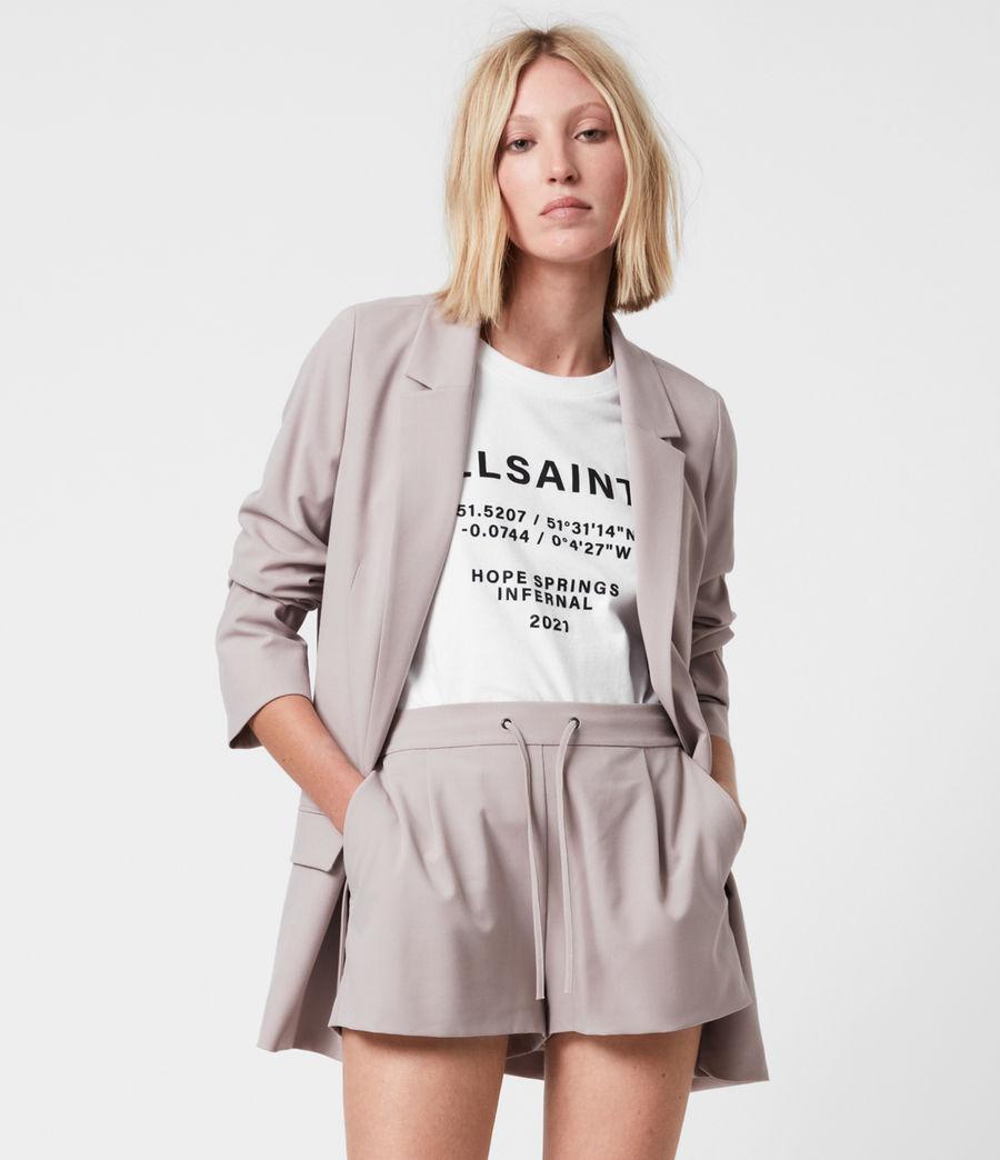 Women's Aleida Tri Blazer (dusty_pink) - Image 4
