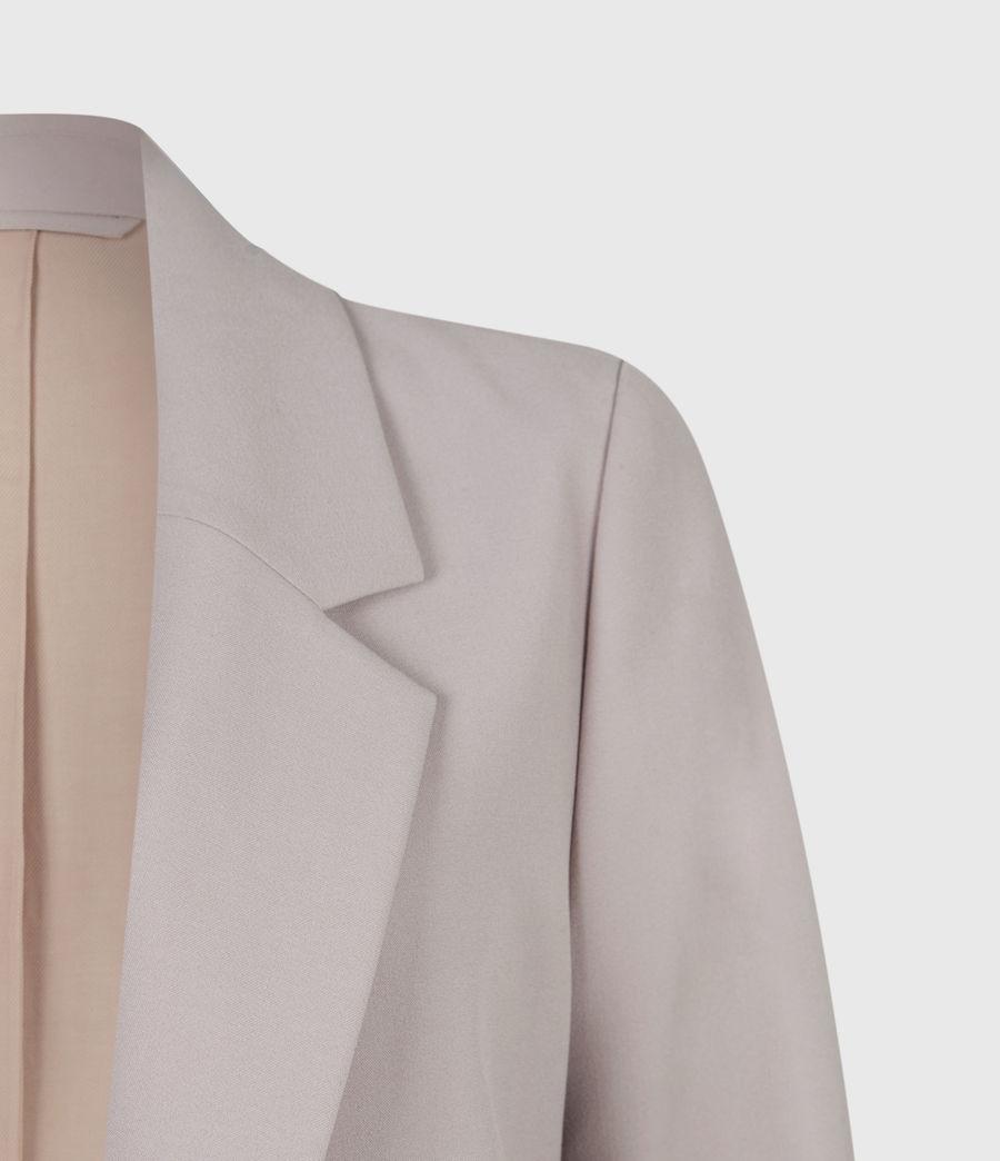 Women's Aleida Tri Blazer (dusty_pink) - Image 5
