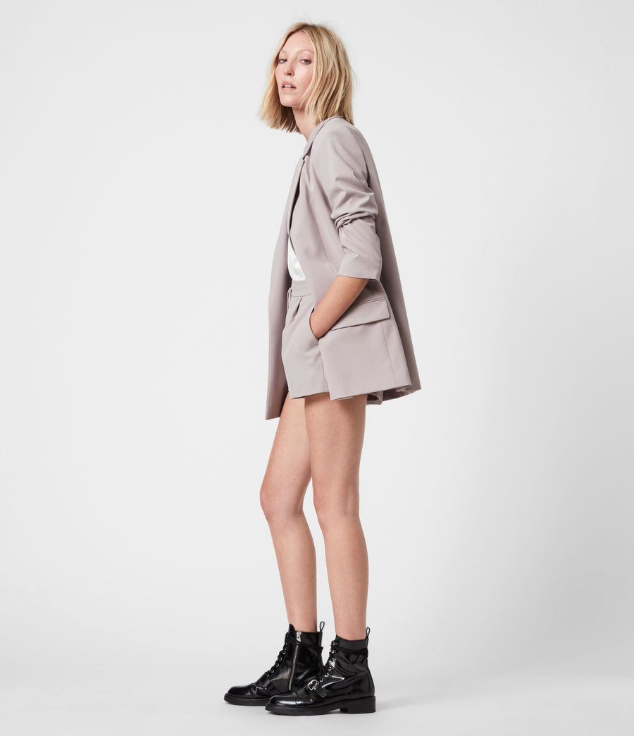 Women's Aleida Tri Blazer (dusty_pink) - Image 6